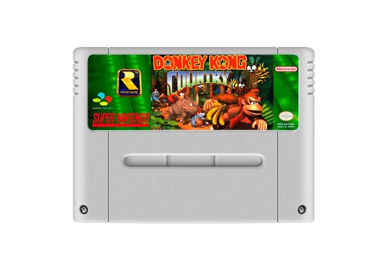 Imagem principal de Donkey Kong Country - Cartucho Famicom