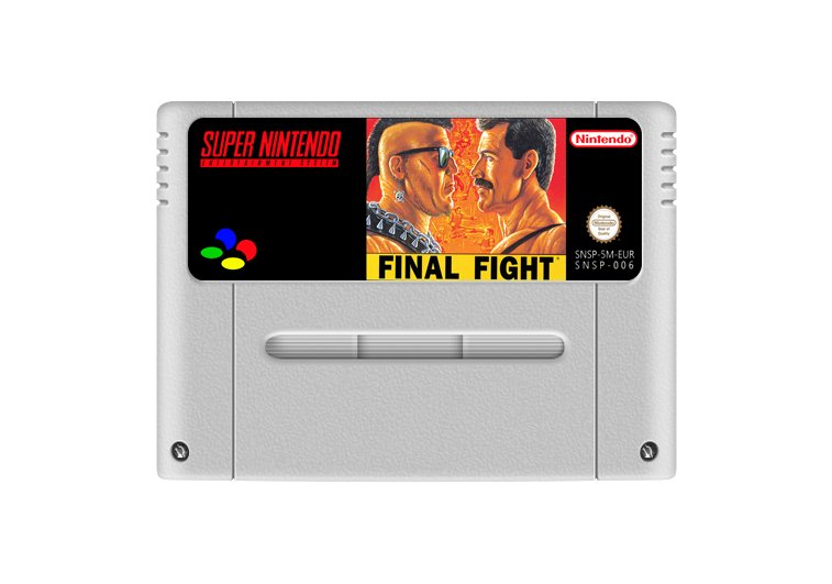 Imagem principal de Final Fight 1 - Cartucho Famicom