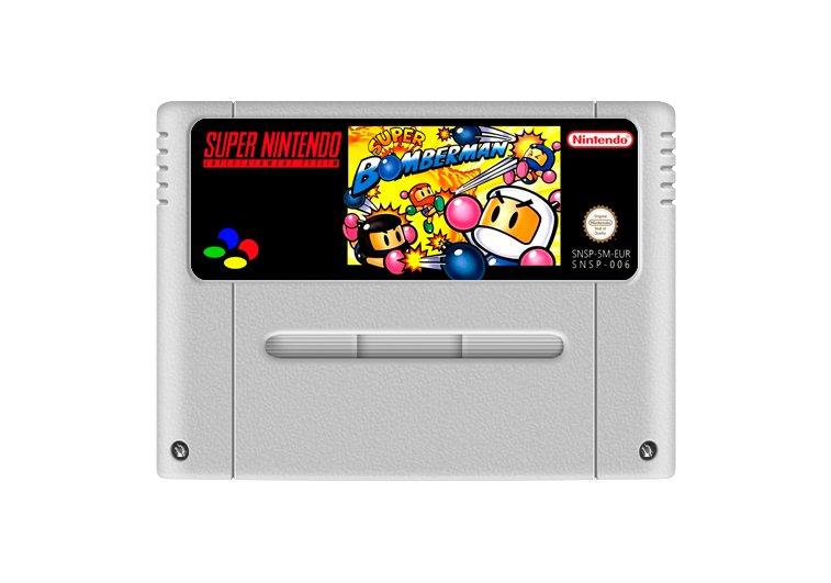 Imagem principal de Super Bomberman 1 - Cartucho Famicom