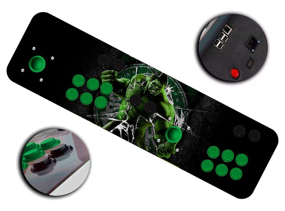 Imagem principal de Fliperama Arcade Hulk Palmeiras + de 60 mil jogos + Netflix